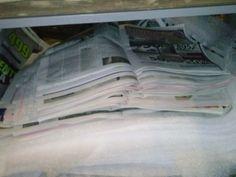 Brettet aviser Container