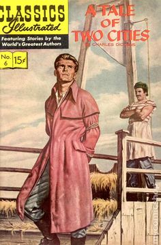 Classics Illustrated 006 A Tale of Two Cities
