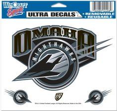 "Omaha Nighthawks 5""x6"" Color Ultra Decal"