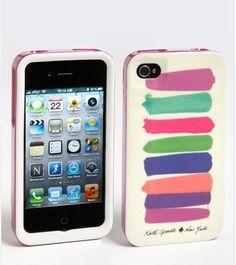 Designer kate spade new york -paint swatches iPhone 4 and 4S case by Designer, http://www.amazon.com/dp/B008W117JM/ref=cm_sw_r_pi_dp_L4LOqb1K71VT3