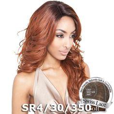 Isis Brown Sugar Human Hair Blend Soft Swiss Lace Wig - BS212