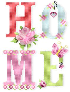 Butterfly & Roses - Butterfly & Roses (+Bonus Tender, romantic cross stitch roses, cute, sweet butterflies, and handwriting. Cross Stitch Beginner, Tiny Cross Stitch, Free Cross Stitch Charts, Cross Stitch Quotes, Cross Stitch Letters, Cross Stitch Kitchen, Cross Stitch Pictures, Cross Stitch Cards, Simple Cross Stitch