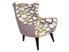 Ocean Lime Designers Guild Wing Chair