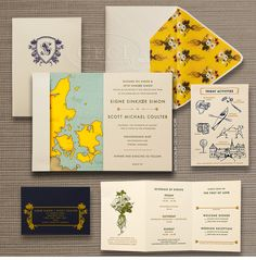 Luxury Wedding Invitations by Ceci New York - Our Muse - Signe & Scott - Fairy-Tale Danish Wedding at Holckenhavn Castle - wedding, wes anderson inspired, wedding invitations, holckenhavn castle, nyborg, denmark, luxury invitations, ceci new york