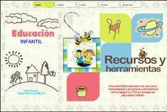 Pequeña Web/colección con recursos, herramientas y programas informaticos para trabajar las TIC en la etapa de educación infantil.        ,