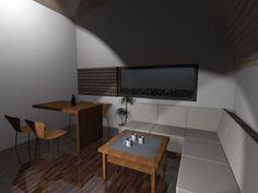 Casa Ecologica MICRO STANDARD - Construcții de case din lemn și case imprimate 3D Conference Room, Flat Screen, Sweet Home, Table, House, Furniture, Home Decor, Houses, Blood Plasma