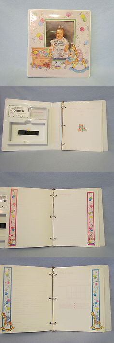 Keepsakes and Baby Announcements 117388: Hortense B Hewitt Baby Memory Record Book Picture Photo Scrapbook Album Binder -> BUY IT NOW ONLY: $40 on eBay!