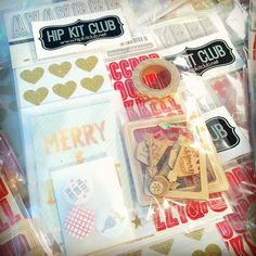 Our @hipkitclub #november2015 #hipkits are shipping now!  Take a peek at our #embellismentaddonkit ... It is full of festive #hkcexclusiveproducts designed by our DT member Kim Watson.  @hipkitclub #scrapbook #scrapbooking #scrapbookkitclub #projectlife #holidays #decemberdaily #christmas #winter @americancrafts #thickers @cratepaper #maggieholmesshine #shine @octoberafternoon #dailyflash @shopfreckledfawn #washitape #gold #glitter #woodveneer #flair #acrylicshapes