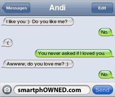 rude!! soo rude!! Why is it funny?