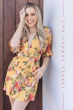 Trendy & affordable women's boutique shopping at The Copper Closet. Shop with us online or at one of our 10 locations across the South East! Mustard Yellow Outfit, Yellow Outfits, Casual Outfits, Boutique Clothing, Fashion Boutique, Shopping Shopping, Online Shopping, Fashion Online