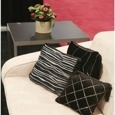 Midnight Pillow Collection by CORT Events -- Add a little contemporary glam to your event furnishings. | cortevents.com