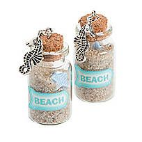 Mini Bottle Charms with Cork Stopper