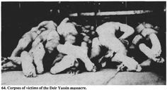 Deir Yassin Massacre – April 9, 1948   Occupied Palestine   فلسطين