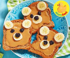 Sunday the day of rest and I like to start with a good breakfast. Peanut butter & banana on toast, my favourite! Whats your favourite breakfast on a Sunday morning? Breakfast Bars, Breakfast For Kids, Breakfast Ideas, Breakfast Recipes, Healthy Snacks For Diabetics, Healthy Desserts, Healthy Kids, Healthy Food, Smoothies
