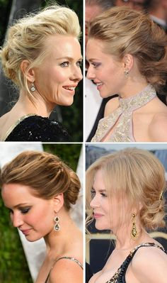Jennifer Lawrence, Amanda Seyfried & More: Vintage Hair AtOscars for Paige - all soft and romantic