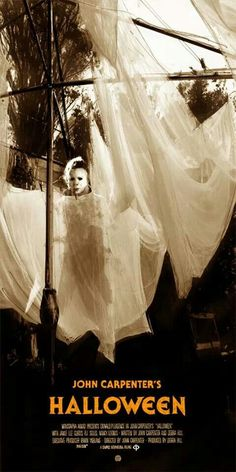 John Carpenter's Halloween (1978) with Donald Pleasence & Jamie Lee Curtis - Movie Poster  https://www.youtube.com/user/PopcornCinemaShow