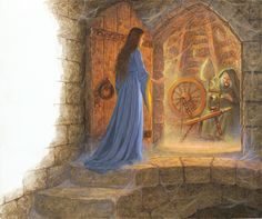 Briar Rose and the Spinning Wheel - Scott Gustafson