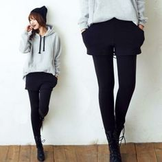 Buy 'ANNINA � Brushed Fleece Inset Shorts Leggings' with Free International Shipping at YesStyle.com. Browse and shop for thousands of Asian fashion items from South Korea and more!