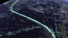 VIDEO: Global Shipping Traffic Visualized