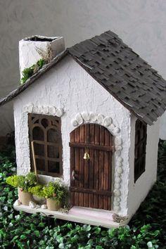 handmade House Template Fairy Garden Houses Cardboard Crafts Putz Houses Paper Houses Stone Houses Miniature Houses Doll Crafts Christmas Home Fairy House Crafts, Fairy Garden Houses, Miniature Crafts, Miniature Houses, House Template, Paper Houses, Cardboard Houses, Putz Houses, Cardboard Crafts