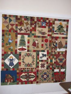 IMG_0046Christmas Quilt by sewhappy10000, via Flickr