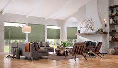 """⅜"""" Single Cell Bottom Up/Top Down Cellular Shades with Cordless Lift: Cocoon, Arboretum 0430 Cellular Shades, Window Treatments, Gallery, Outdoor Decor, Graber Blinds, Pleated Shade, Interior Design, Home Decor, Outdoor Furniture Sets"""