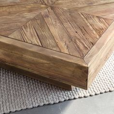 Low Coffee Table, Outdoor Coffee Tables, Bamboo Sushi, Beaded Chandelier, Chevrons, Sweet Home, Dining Room, Furniture, Storage