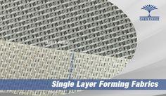 Single Layer Forming Fabrics