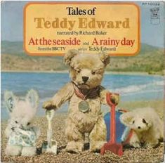 Tales of Teddy Edward narrated by Richard Baker Vinyl 45 Record by EMI from 1973 Childhood Images, 1970s Childhood, My Childhood Memories, Baby Memories, Teddy Edwards, Rabbit Book, Kids Tv, Old Toys, My Children