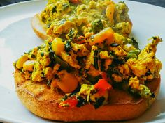 I've never really been enamoured of tofu scramble, but decided to try again today with more veggies and more flavour. I'm really pleased with the result, and I hope you like it too. In fact, Anke v...