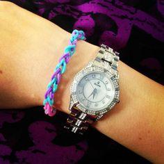 .@sai_kat | Got dat shiny #bling #bulova #watch And a cute bracelet my sister made for me. | Webstagram
