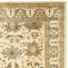 @Overstock - Based on sophisticated traditonal Oushak designs and dense, thick pile highlight this powerloomed rug. Designed with today's decor's in mind, this rug uses open fields and soft, easy to design with palettes.http://www.overstock.com/Home-Garden/Oushak-Cream-Blue-Powerloomed-Rug-96-x-13/6417325/product.html?CID=214117 $464.99