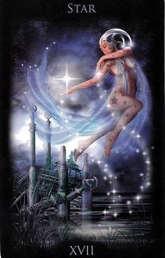 Legacy of the Divine tarot: the Star
