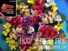 Tropical Fresh Fruit.  You Should be Come Here @junglesumatra.com and enjoying a nature. #bukitlawang #orangutan #junglesumatra #jungletrekking