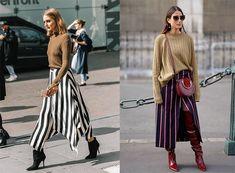 La compra de la semana: falda de rayas