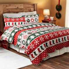 Awesome Christmas Quilts To Make Your Kids Bedroom Colorful