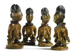 Yoruba Ere Ibeji (Twin Figure), Igbomina - Offa, Nigeria http://www.imodara.com/post/102815707879/nigeria-yoruba-ere-ibeji-twin-figure-igbomina