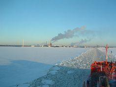 Oulu in Finnland bei -20 Grad 1