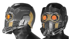 Star-Lord helmet. Flipped the image to make it easier to draw from. Also I really want one of these.