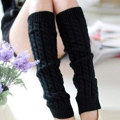 Cycling Clothings Long Leg Warmers Women Legwarmers Lady Acrylic Crochet Knitted Soft Elastic Machine Washable Boot Cover Loose Socks Do You Want To Buy Some Chinese Native Produce?