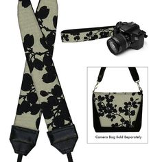 DSLR Camera Strap Slr Digital Camera Padded by janinekingdesigns, $29.99