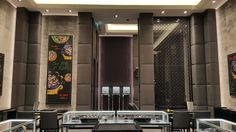 Hublot Dubai Mall #studioforma #architects #studioformaarchitects #alexleuzinger #switzerland #zurich #zürich #architecture #architekt #retail #retaildesign #retailarchitecture #mall #shop #boutique #fashion #watches #jewelry #highfashion #interior #design #furniture #concept #store #commercial #zurich #hublot #barrefaeli #fifa #hublotboutique #bigbang #diamonds #swiss #hublotwatches #artoffusion #swisswatches #dubaimall #emirates #mall #dubai #uae #arabia #saudi