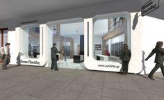 Pavlidis Optic Store - Thessaloniki Thessaloniki, Retail, Store, Projects, Log Projects, Blue Prints, Storage, Business, Shop
