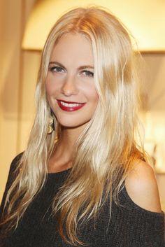 Lady is a Vamp: Best Dark Lips of 2012 - Poppy Delevingne