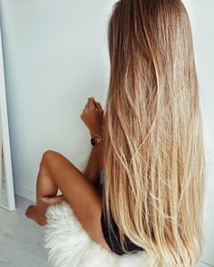 Honeylocks Hair Extension System the only truely non-damaging, DIY, easy permanent hair extensions Beautiful Long Hair, Gorgeous Hair, Messy Hairstyles, Pretty Hairstyles, Blonde Hairstyles, Straight Hairstyles, Coiffure Hair, Pinterest Hair, Very Long Hair