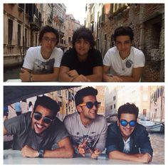 Then and Now Il Volo forever!