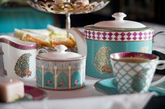 Tea-time with the Serai collection