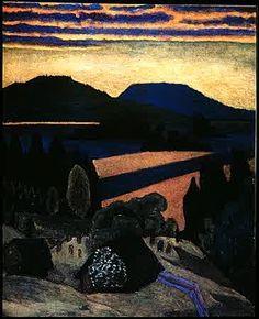 Gabriele Munter Lake in the Eveing