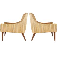 Midcentury Scoop Lounge Chairs After Milo Baughman   From a unique collection of antique and modern lounge chairs at https://www.1stdibs.com/furniture/seating/lounge-chairs/