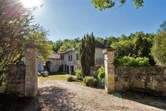 Stone character 4 bed property in peaceful ancient quarry setting with garden and Private Woodland of over acres. Property Listing, Property For Sale, Low Cost Flights, French Property, Open Fireplace, One With Nature, Greenhouse Gases, Apartments For Sale, More Photos